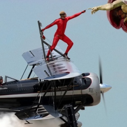 Photoshop this wing walker